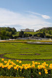 Schonbrunn Palace Gardens and Gloriette ,  Austria Royalty Free Stock Image