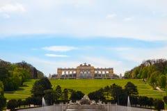 Schonbrunn Palace Gardens and Gloriette ,  Austria Stock Photography