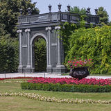 Schonbrunn palace gardens Royalty Free Stock Photography