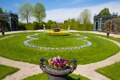 Schonbrunn Palace Gardens at Vienna, Austria. Schonbrunn Palace Gardens at Vienna in spring , UNESCO World Heritage Site Stock Image