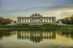 Schonbrunn Palace Gardens, Vienna, Austria Stock Image