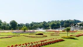 Schonbrunn Palace Gardens Stock Photos