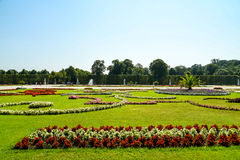 Schonbrunn Palace Gardens Royalty Free Stock Photos