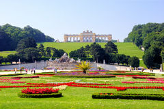 Schonbrunn Palace gardens Royalty Free Stock Images
