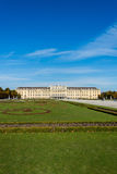 Schonbrunn Palace on October 14 in Vienna, Stock Image