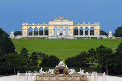 Schonbrunn Palace Park Royalty Free Stock Photography