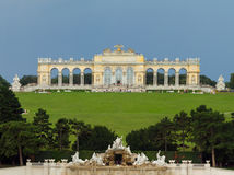 Schonbrunn Palace Park Stock Image