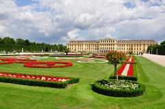 Schonbrunn Palace and park, Vienna, Austria Stock Image