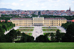 Schonbrunn Palace and park, Vienna, Austria Royalty Free Stock Image
