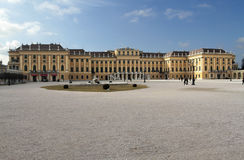 Schonbrunn Palace - the residence of the Austrian emperors Royalty Free Stock Image
