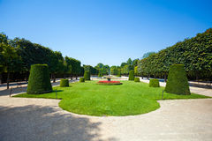 Schonbrunn Palace royal residence garden Royalty Free Stock Photo