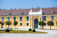 Schonbrunn Palace royal residence Royalty Free Stock Photography