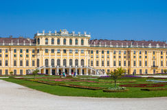 Schonbrunn Palace royal residence Stock Photos