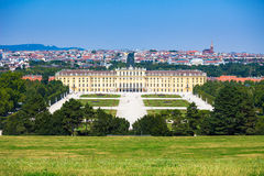 Schonbrunn Palace royal residence Stock Image