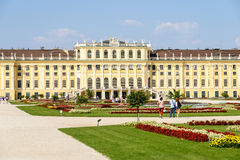 Schonbrunn Palace (Schloss Schonbrunn) In Vienna Royalty Free Stock Photography