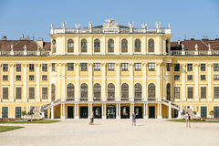 Schonbrunn Palace (Schloss Schonbrunn) In Vienna Stock Photos