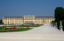 Schonbrunn Palace, Vienna Stock Photos