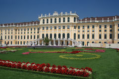 Schonbrunn Palace in Vienna Stock Image