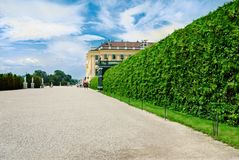 Schonbrunn Palace in Vienna Stock Images