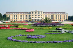 Schonbrunn Palace in Vienna royalty free stock image