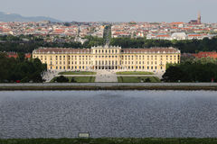 Schonbrunn palace Vienna Stock Photo