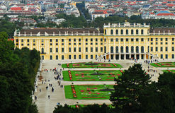 Schonbrunn Palace, Vienna, Aus. Schonbrunn Palace, in Vienna, Austria Royalty Free Stock Photo