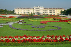 Schonbrunn Palace in Vienna. Austria. Schonbrunn Palace in Vienna Austria summer Royalty Free Stock Photos