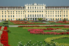 Schonbrunn Palace in Vienna. Austria Royalty Free Stock Photo
