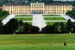 Schonbrunn Palace,Vienna,Austria Stock Photos