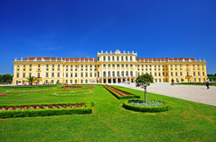 Schonbrunn Palace in Vienna, Austria. The Schonbrunn Palace in Vienna, Austria Royalty Free Stock Photography