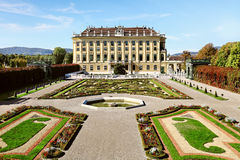 Schonbrunn Palace in Vienna, Austria. Beautiful Schonbrunn Palace in Vienna, Austria Royalty Free Stock Photos