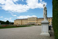 Schonbrunn Palace Stock Photo