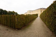 Schonbrunn palace Stock Photos