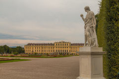 Schonbrunn Palace in Vienna, Austria Royalty Free Stock Image