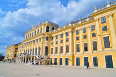 Schonbrunn Palace. Vienna, Austria - April 4, 2015: The Schonbrunn Palace in Vienna. Shot taken on April 4th, 2015 Royalty Free Stock Image
