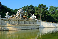 Schonbrunn Palace, Vienna, Austria Royalty Free Stock Images