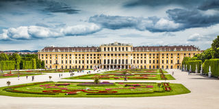 Schonbrunn Palace in Vienna, Austria Royalty Free Stock Photo
