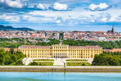 Schonbrunn Palace, Vienna, Austria royalty free stock photo