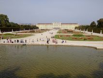 Schonbrunn Palace. In Vienna, Austria, Europe Stock Photo