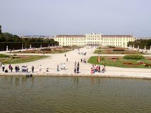Schonbrunn Palace. In Vienna, Austria, Europe Royalty Free Stock Photo