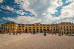 Schonbrunn Palace in Vienna Austria Stock Photos