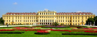 Schonbrunn Palace, Vienna, Austria Royalty Free Stock Photos