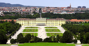 Schonbrunn Palace Vienna Austria Royalty Free Stock Photography