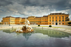 Schonbrunn Palace Vienna, Austria Royalty Free Stock Image