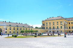 Schonbrunn Palace in Vienna, Austria. Royalty Free Stock Photos