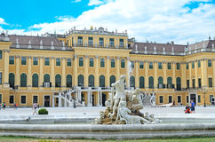 Schonbrunn Palace in Vienna, Austria. Royalty Free Stock Images