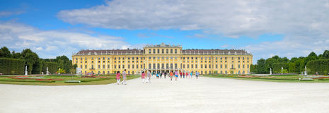 Schonbrunn Palace in Vienna, Austria. Stock Photos
