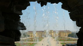 schonbrunn palace, vienna, austria, 4k stock video