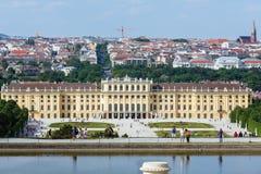 Schonbrunn palace  Vienna, Austria Stock Image