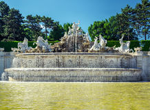 Schonbrunn Palace in Vienna, Austria Stock Images
